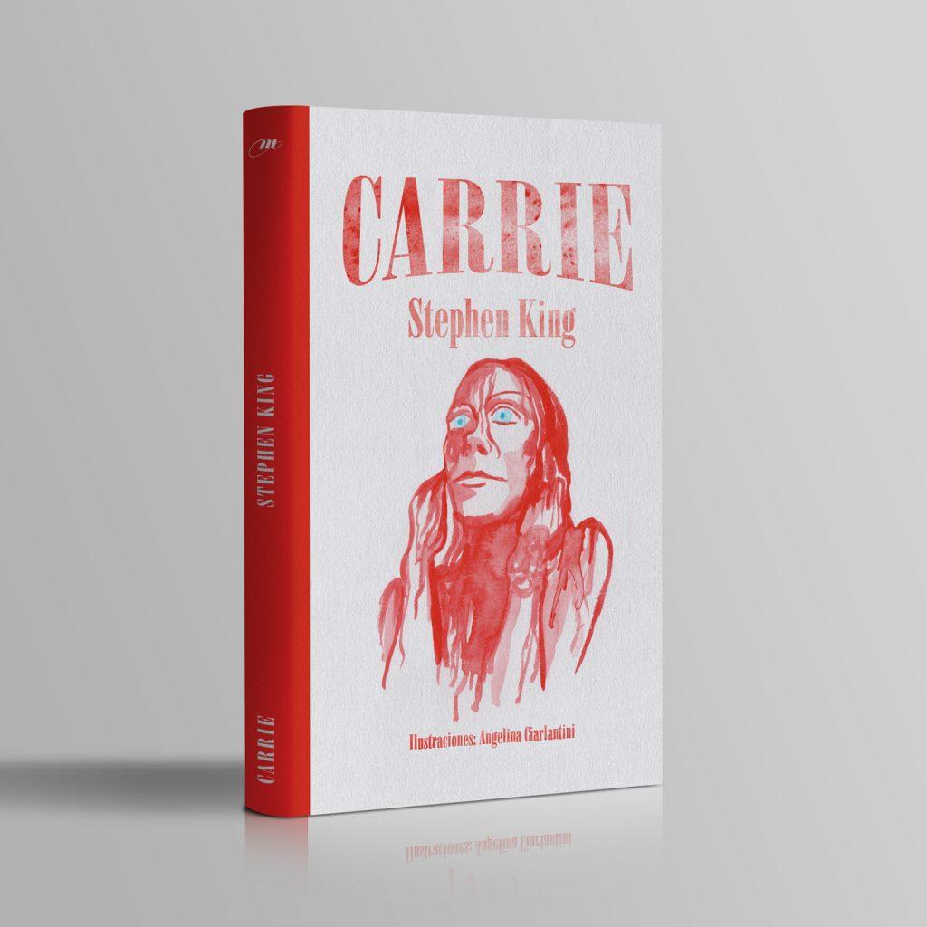Carrie, arte de tapa.