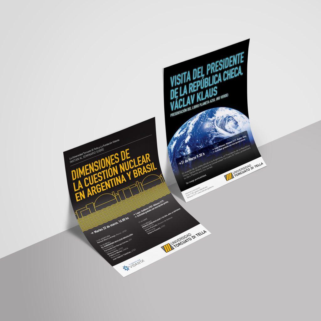 Universidad Torcuato Di Tella, afiches .